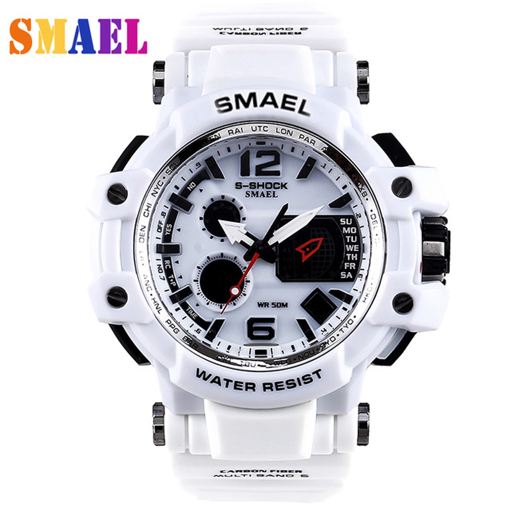 Digital analog Wristwatches men women LED electronic Day dive army G  S-Shock sport watch relogio masculino feminino lady white