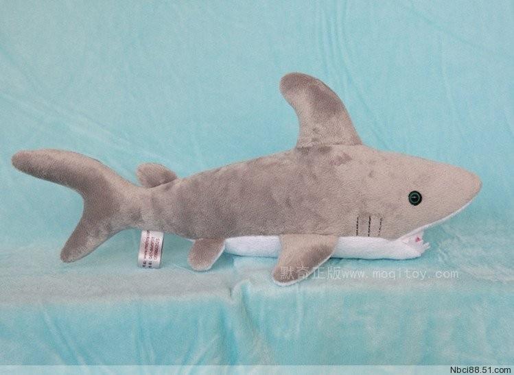 Stuffed animal 40cm gray shark plush toy doll high quality gift present w1157 полка для обуви мастер лана 2 пол 2п орех мст пол 2п ор 16