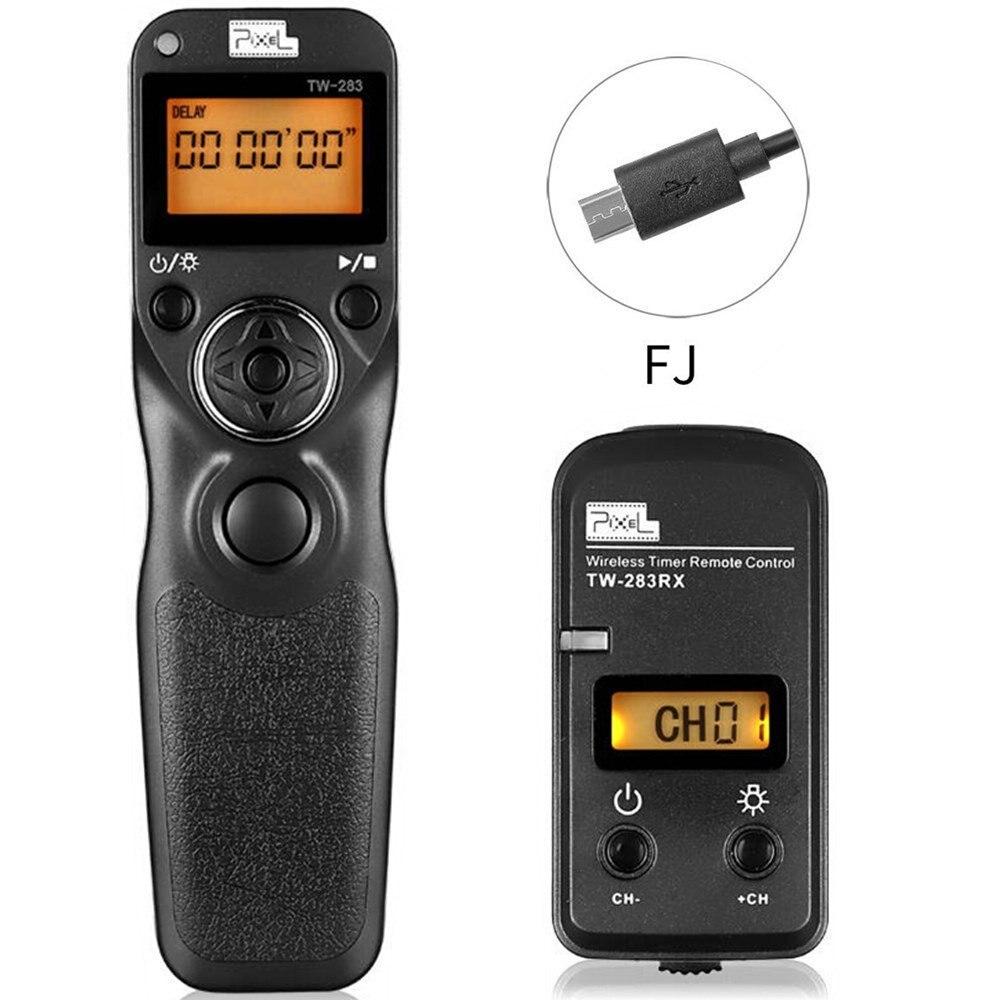 PIXEL TW 283/90 Wireless Timer Shutter Release For Fujifilm GFX50S/X Pro2/X T2/X T1/X T20/X E2/X E2S/X M1/X100F/X100T/X A2/X70
