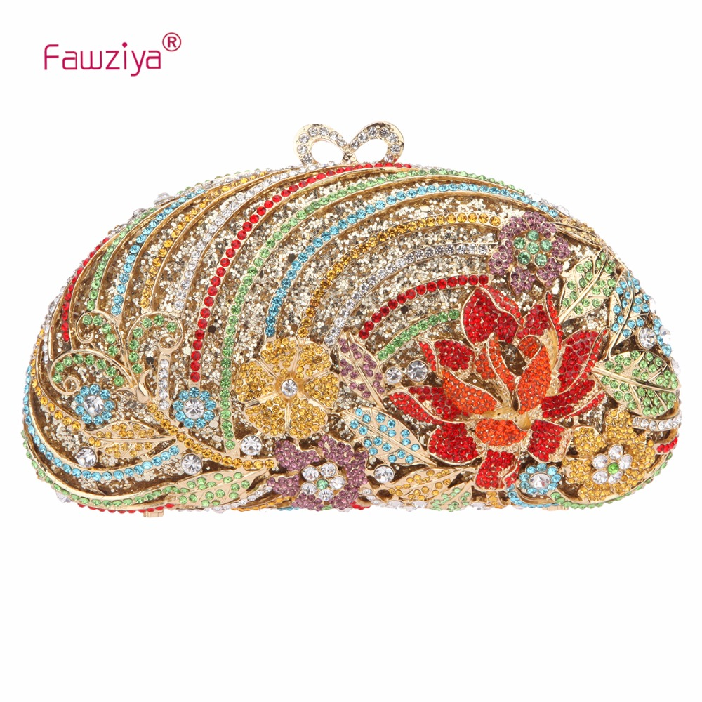Fawziya Big Diamond Heart Clutch Purses For Women Evening Bag Crystal fawziya apple clutch purses for women rhinestone clutch evening bag