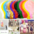 "1pcs Wedding Decoration 36"" 90CM Helium Big Latex Party Large Giant Balloons Decoration Metallic Inflatable Air Balloons Arch"