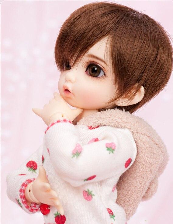 Bjd doll 1 6 Bisou Girl fashion doll high quality model birthday gift free eyes