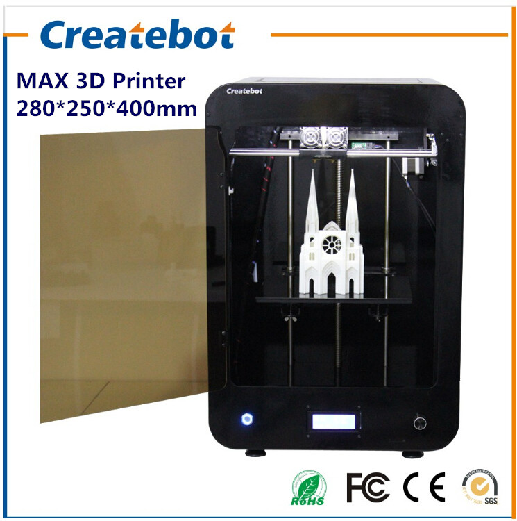 Big Print Size Printer 3D Printer with Single-extruder