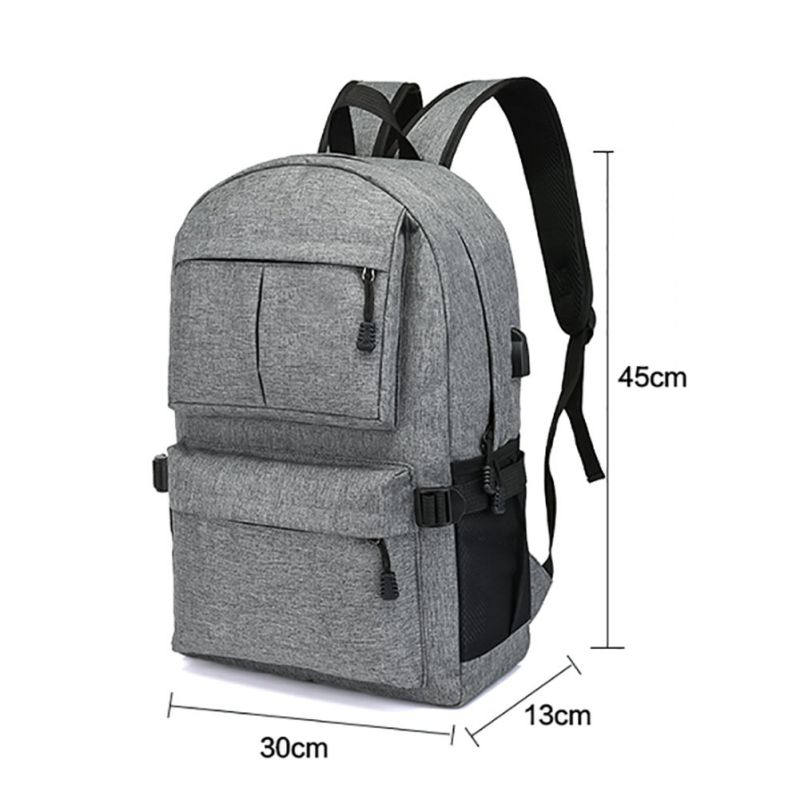 Multifunctional Backpack Book USB Bags Man Backpack Rucksack Day pack Oxford Canvas Laptop Camping Bags