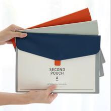 1 UNIDS A4 PU Carpeta De Archivos Lindo Documento Organizador Del Bolso Del Organizador de Documentos de Cartera Carpeta De Documentos Organizadores De Todos 6125