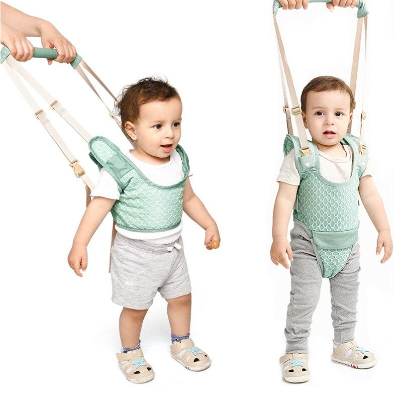 Mochila auxiliar para bebé andador, arnés para niños, cinturón de aprendizaje para caminar, correas de pie, alas de correa, 10-36 meses Ejercicio seguro cuidado del bebé aprendizaje arnés para caminar mochila Stick Sling Boy Girls ayuda infantil andador asistente alas de cinturón