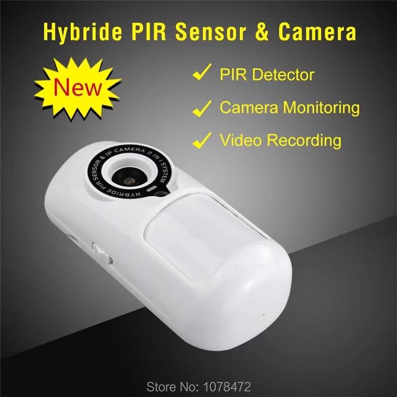 купить DYGSM Brand New hybrid PIR sensor& camera alarm with camera monitoring,video recording,App Controlled WiFi alarm camera онлайн