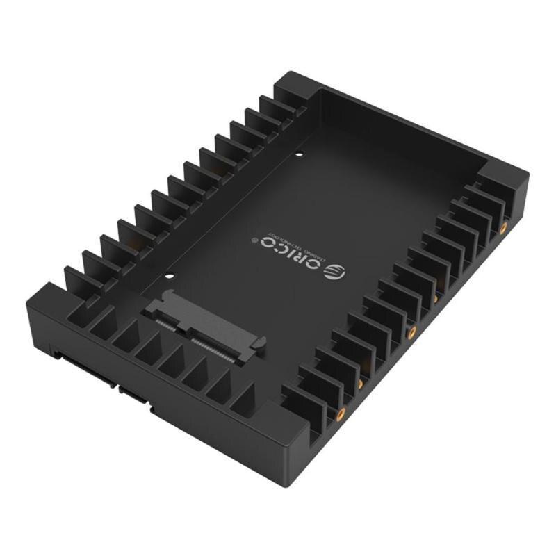 オリコ HDD ケース 2.5 インチに 3.5 インチ SATA HDD/SSD アダプタ 7/9 。 5/12 。 5 ミリメートル SSD ハードディスクドライブキャディーボックスサポート SATA3.0 6 5gbps