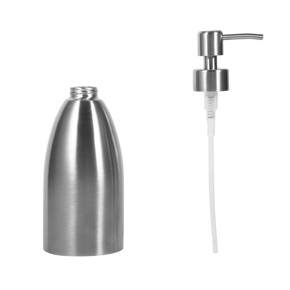 online get cheap sink faucet parts aliexpress com alibaba group 500ml kitchen sink faucet bathroom shampoo box soap container stainless steel soap dispenser china