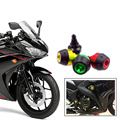 CNC Aluminum Left & Right Fairing Guard Slider Frame Crash Pad Protector For Yamaha YZF R3 R25 2014 2015 2016