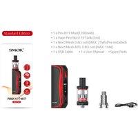 19 Electronic Cigarette Vape Kit SMOK Priv N19 Kit 1200mah Battery M/S/N/H Mode 5-30W with 2ml VAPE PEN Nord 19 tank vs vape pen 22 (4)