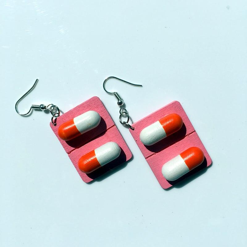 pink capsule