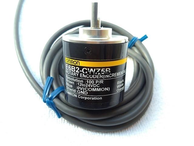 Free shipping E6B2 CWZ5B 10/20/30/100/200/300/360/400/500/600/1000/1024/P/R Incremental rotary encoder,PNP output