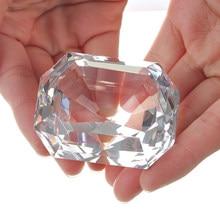Bijoux en verre coupe diamant K9, Collection de souvenirs, décoration de cadeaux d'anniversaire, de noël et de mariage