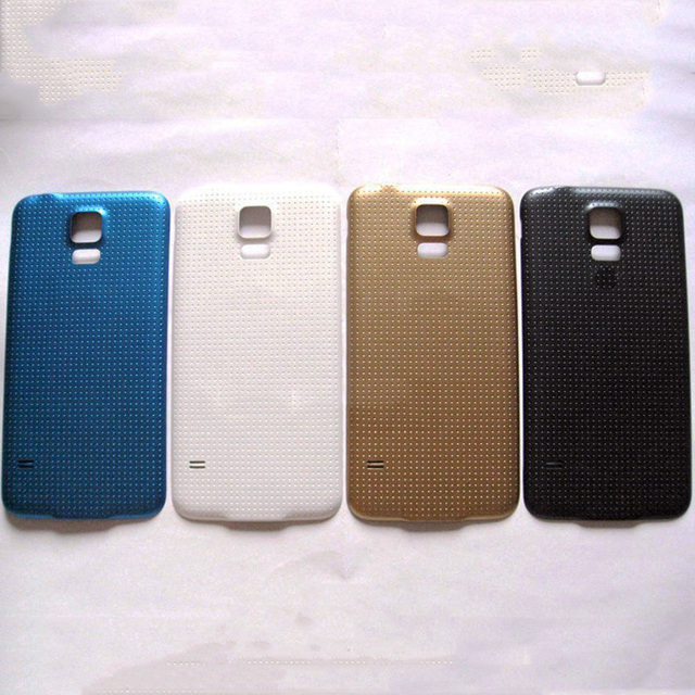 10pcs Original Back Housing For Samsung Galaxy S5 Back Cover Case Battery Rear Door i9600 G900 G900F G900M G900H SM-G900F