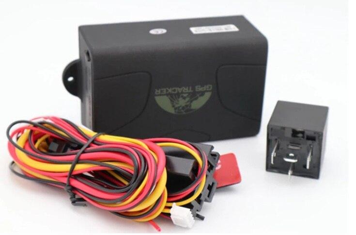 Trackers de véhicule GPS magnétiques portables TK104b SMS en ligne GPRS système de suivi de véhicule d'application Mobile