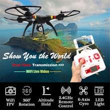 X8W Syma RC Quadcopter 2.4G 6-Axis Gyro Drone FPV Video dengan Kamera 0.3MP US 9990 Dec08