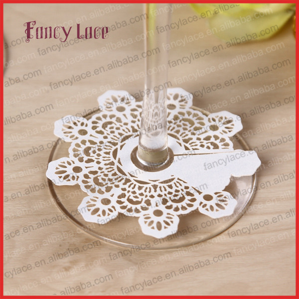 50pcs Snow Christmas Wine Glass Cards Party Decoration,Wine Glass Feet Cards or Bookmark Message Tags Christmas Party Decoration