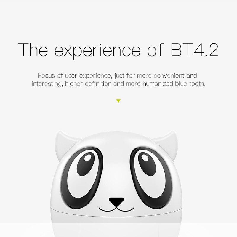 Universal Cute Pet Bluetooth Headset 4.2 Binaural Wireless  Sports Earphone Binaural Stereo HD Call Bluetooth Headset for IOS