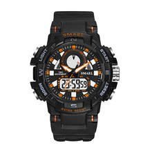 2019 Waterproof Sports Military Shock Men's Analog Quartz Digital Watches Men Military Army Mens Watch Digital Sports Wristwatch цена