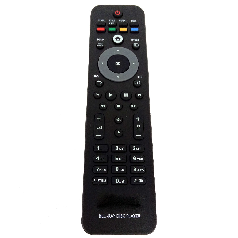 Universal Remote Control For Philips BLU-RAY DISC PLAYER DVD Function free shipping free shipping oppo udp 203 4k uhd hdr 3d hd ultra blu ray disc player usb3 0 dvd player china version 110v 220v