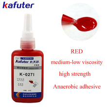 цена на Kafuter 50G K-0271 Screw glue Anaerobic adhesive  thread locking adhesive Medium viscosity High strength threadlocker