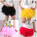 New 2015 summer Hot Baby Toddler Girls Clothes kids tutu SKirt children Fluffy princess Party Skirts for girls age 2T~8
