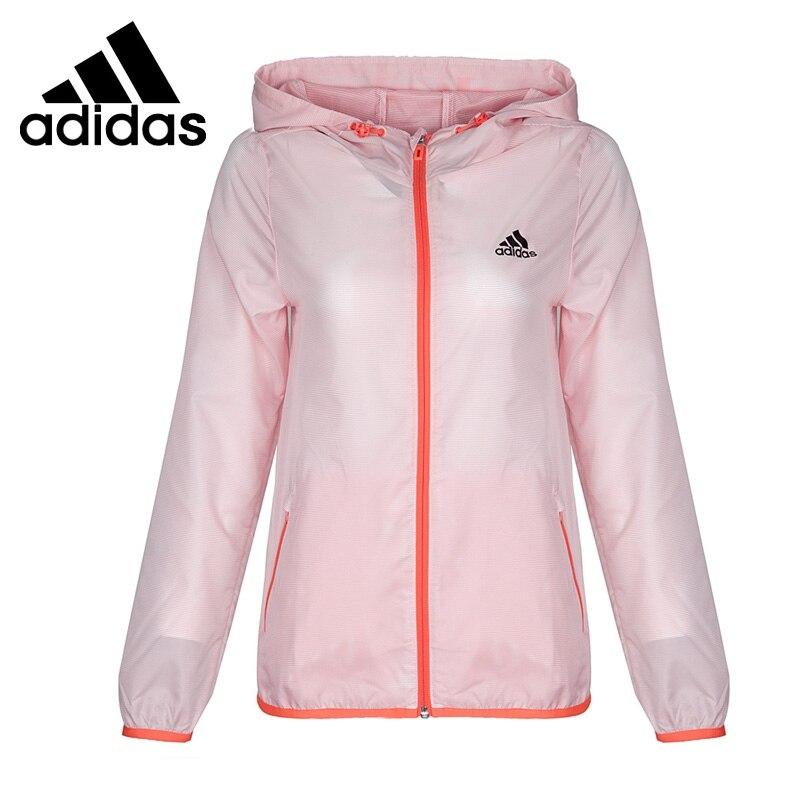 Original New Arrival 2017 Adidas WB LT LINEAR 3S Women's Woven jacket Hooded Sportswear original new arrival 2017 adidas wb 3s lineage women s jacket hooded sportswear