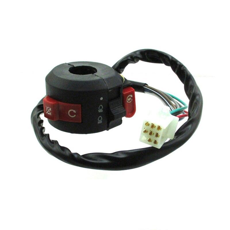 XLJOY Kill Start Light Choke Switch For 50cc 70cc 90cc 110cc 125cc ATV Quad Taotao Sunl Roketa