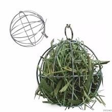 Toy Grass-Grame Rabbit Animal Bunny Small Guinea Hanging-Ball Pet-Feed-Dispenser Ball-Shape