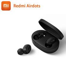 IN STOCK ! Original Xiaomi Redmi Airdots TWS Bluetooth 5.0 Earphone Stereo bass Eeadphones With Mic Handsfree Earbuds AI Control xiaomi tws airdots bluetooth earphone youth version stereo bass bt 5 0 headphones mic handsfree earbuds ai control