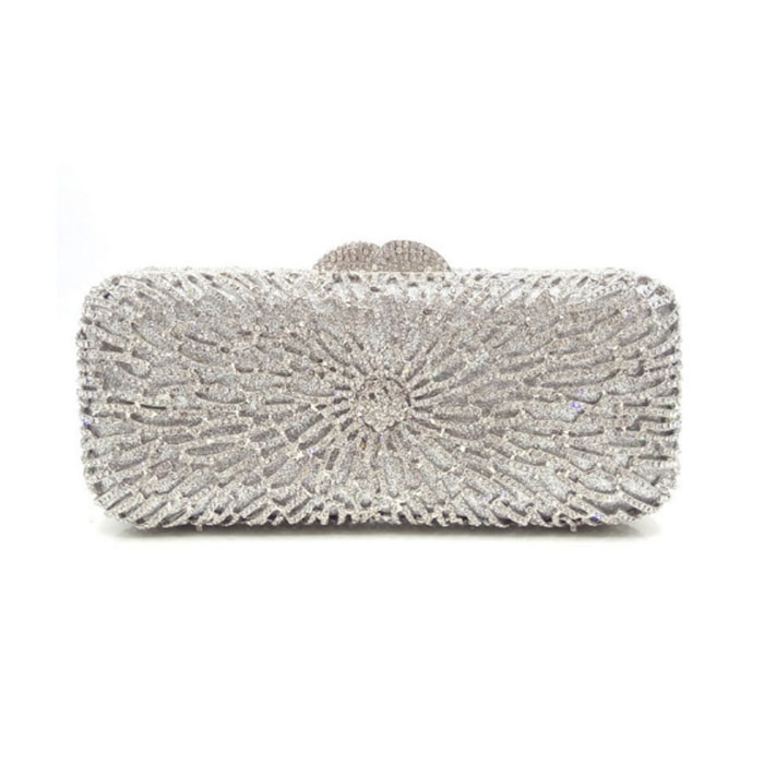 women gold/silver Minaudiere for banquet Fashion bride Evening Bags Ladies Wedding Party Clutch Bag Crystal Diamonds Bags lady fashion high quality gold silver pearl beaded floral evening bags full crystal party purse ladies clutch bride bag bridesmaid