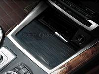 Für BMW X5 E70 2009-2013 Innen Wasser Tasse Halter Abdeckung Trim
