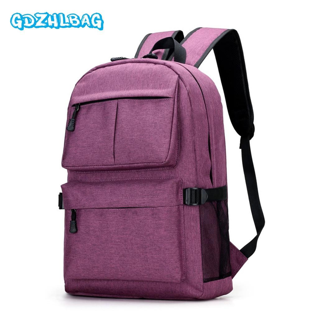 985e7d21c42 Image GDZHLBAG Men Backpack Anti Theft Men Bag USB Charging Backpack With  Headphone Plug Business Women
