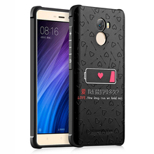 """For Xiaomi Redmi 4 Case 5.0"""" (Snapdragon 430) Redmi4 Cover 3D Painted Anti-knock Silicone TPU Back Cover Mobile Phone Cases"""