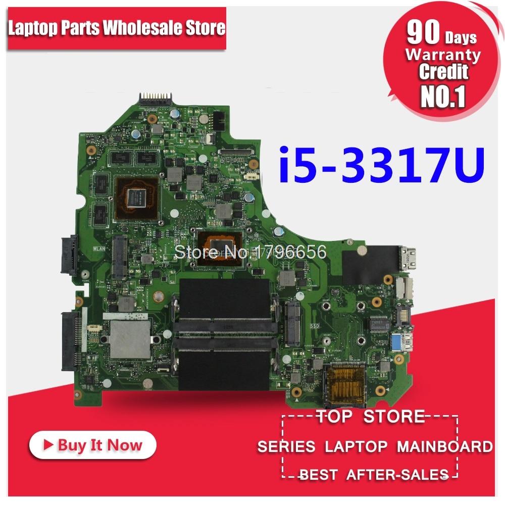 K56CM For ASUS K56CB K56CM A56C S550CM Laptop Motherboard i5 GT635M 2GB Mainboard Test K56CM mainboard цены