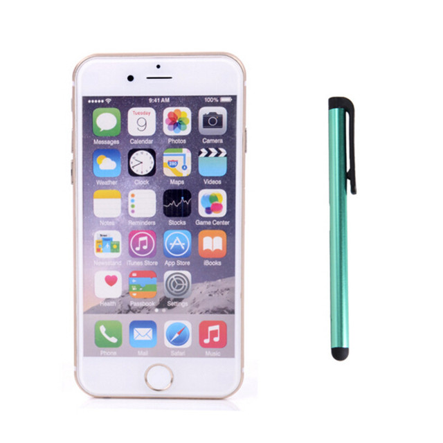 UVR Colorful Touch Screen Pen Capacitive Mobile Phone Stylus Tablets Pen For Iphone 6 7 Ipad2 Samsung S5 S6 Note3 HTC