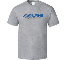 Alpine Electronics T-Shirt Tee Audio Mp3 Usb Cda Cd Radio Stereo Aux Gift New Shirts Homme Novelty T shirt Men цена