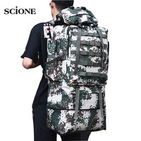 100L Military Molle Army Bag Camping Backpack Tactical Large Backpacks Hiking Travel Outdoor Sports Bags Rucksack Mohila XA658WA