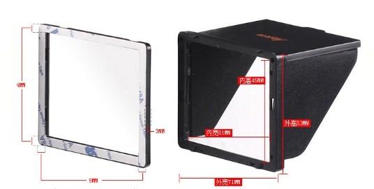Безплатна доставка Popup Shade Lcd качулка - Камера и снимка - Снимка 4