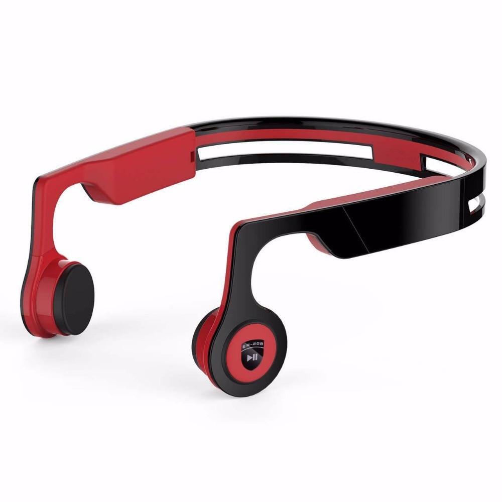 New Stereo Bluetooth Smart Bone Conduction Headset Wireless Sports Headphone Handfree Phone Calls Music Control Earphones 6Color