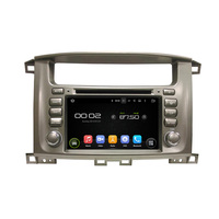 Navirider CAR DVD Android 8.0.0 8 core touch screen stereo for toyota Land cruiser 100 LC100 Lexus IX470 navi gps radio 3G