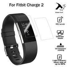 2 stuks HD Beschermende Film voor Fitbit Lading 2 Charge2 Band Anti-Kras TPU Screen Protectors Armband Screen Clear ultra Dunne(China)