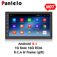 Android 8.1 Quad Core 2 Din Multimedia 7 inch 2 din Head Unit Car GPS Navigation Audio Radio Universal Touch Screen Car Stereo