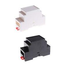 88x37x59 мм пластиковая коробка для электроники проекта чехол DIN Rail распределительная коробка ПЛК