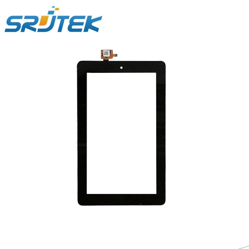 Для Amazon огонь 7 2015 для sv98ln Сенсорный экран планшета Стекло Датчики Замена Черный