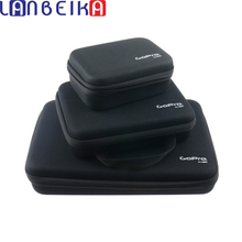 LANBEIKA dla GOPRO 3 rozmiar nylonowa torba do przechowywania torba Case dla GoPro Hero 9 8 7 6 SJCAM SJ5000 SJ4000 SJ6 SJ8 SJ9 kamera DJI YI