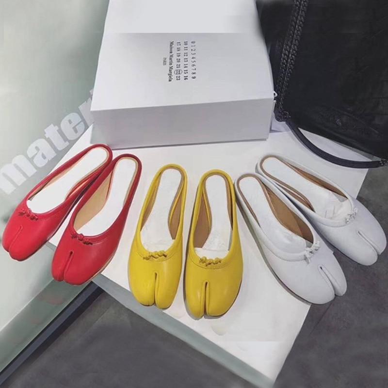 Noué Picture Chaussures Femmes Confortable Feminino En Cordons Véritable Pantoufles Tabi As as Picture Ballerines Tenis Diapositives Printemps Haut Cuir Automne Femme 5gUwqq