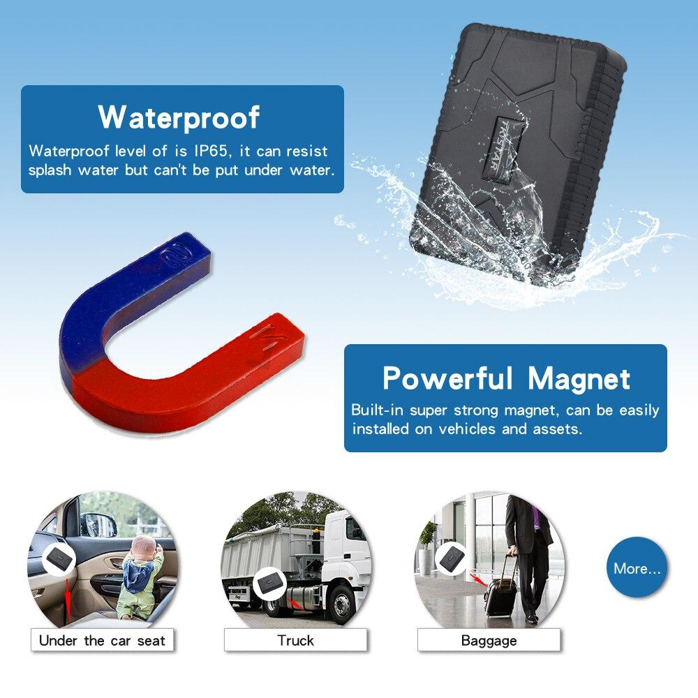 TKSTAR TK 915 Vehicle GPS Car Tracker Locator Rastreador Magnet Waterproof 10000mAh Battery Realtime Track