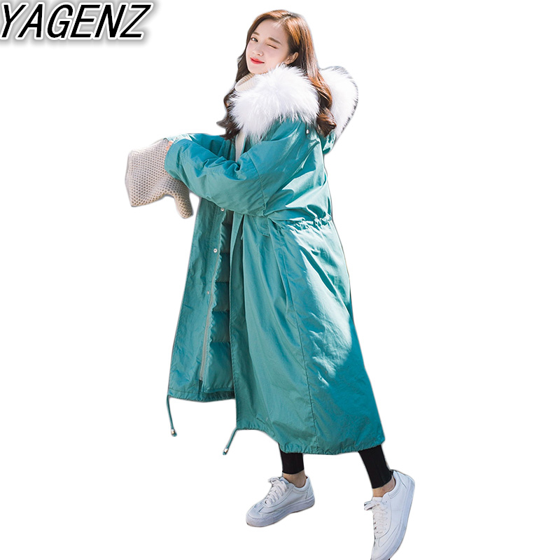 YAGENZ  2017 New spring jacket women winter coat women warm outwear Thin Padded cotton Jacket coat Womens Clothing High Quality 2017 new fashion winter coat women warm outwear padded cotton jacket coat womens clothing high quality parkas manteau femme 520